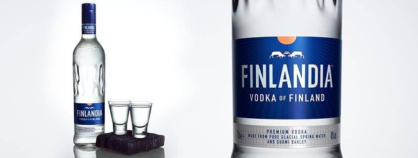 Finlandia Vodka novy dizajn