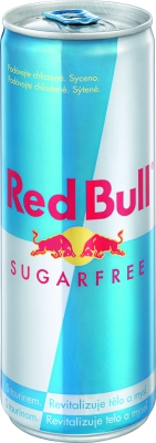 Red Bull Sugarfree 0,25 L plech