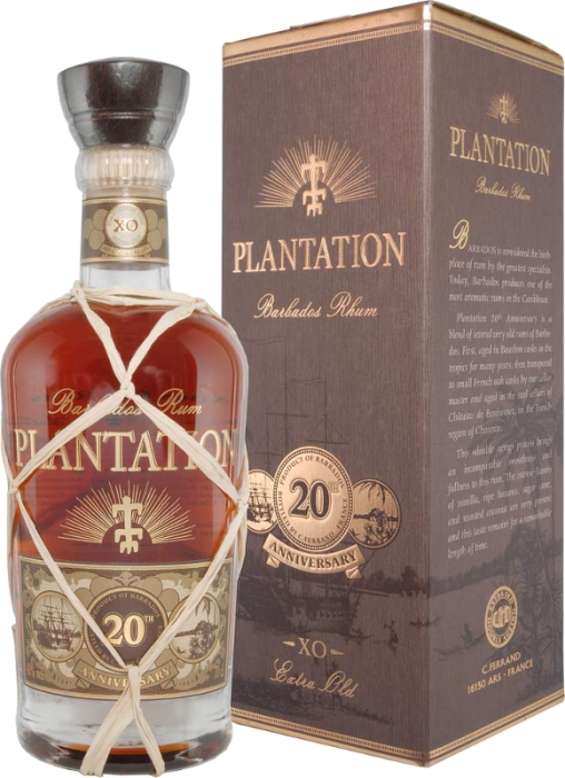 Plantation Extra Old 20th Ann. 40% 0,70 L