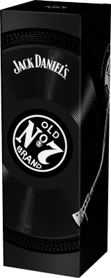 Jack Daniel's 40% 0,70 L Music Giftbox