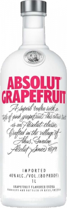 Absolut Grapefruit 40% 1,00 L