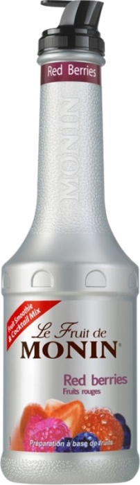Monin Red Berries pyré 1,00 L