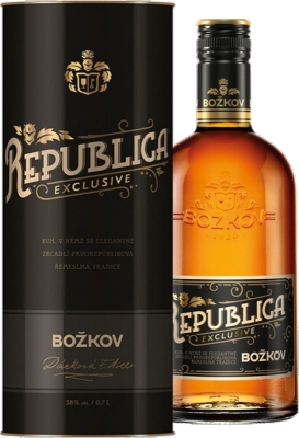 Božkov Republica Exclusive 38% 0,70 L Tuba