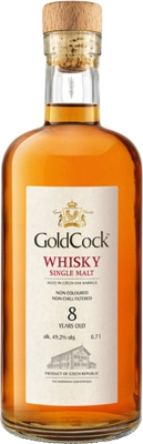 Gold Cock Single 8YO 49,2% 0,70 L