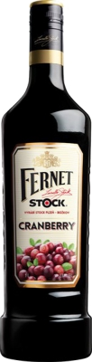 Fernet Stock Cranberry 27% 1,00 L