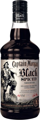 Captain Morgan Black Spiced 40% 1,00 L