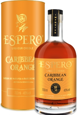 Ron Espero Caribbean Orange 40% 0,70 L