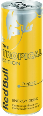 Red Bull Tropical 0,25 L plech