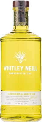 Whitley Neill Lemongrass & Ginger Gin 43% 0,70 L