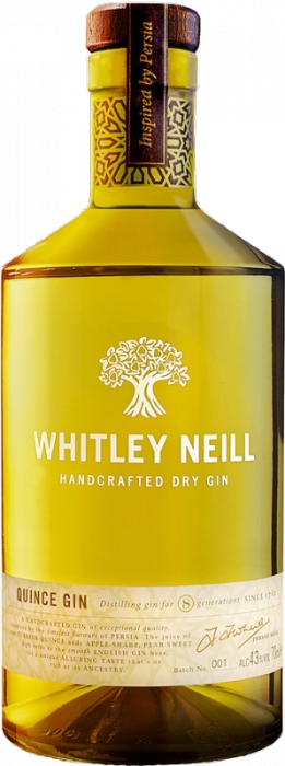 Whitley Neill Quince Gin 43% 0,70 L