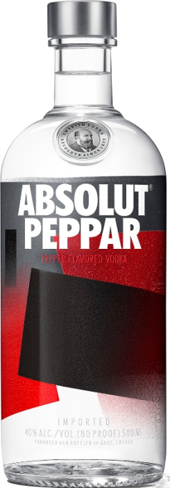 Absolut Peppar 40% 0,50 L