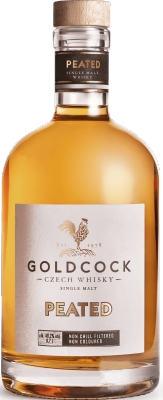 Gold Cock Peated 49,2% 0,70 L