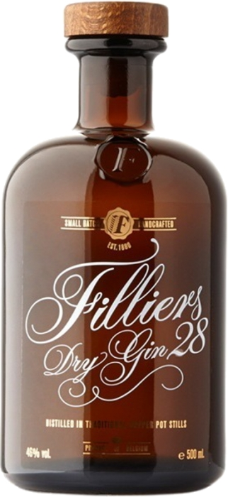 Filliers 28 Dry Gin Classic 46% 0,50 L