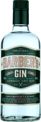 Barber's London Dry Gin 40% 0,70 L