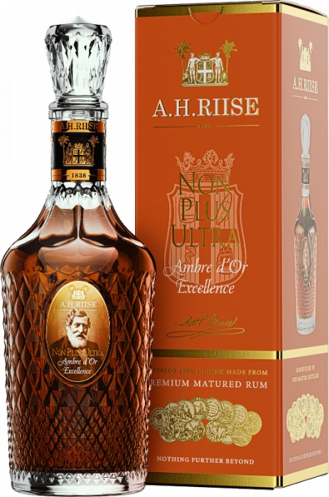 A.H. Riise Non Plus Ultra Ambre d'Or Excellence 42% 0,70 L
