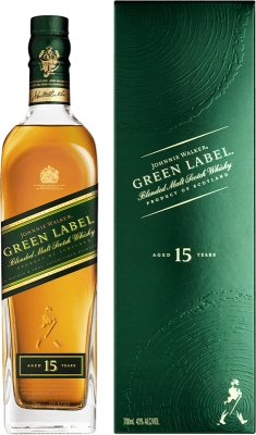 Johnnie Walker Green Label 43% 0,70 L