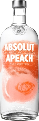 Absolut Apeach 40% 0,70 L