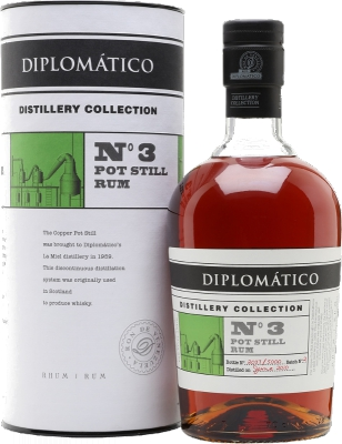 Diplomatico No3 Pot Still Rum  47% 0,70 L
