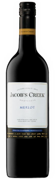 Jacob´s Creek Merlot 13,5% 0,75 L
