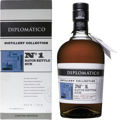 Diplomatico No1 Batch Kettle Rum  47% 0,70