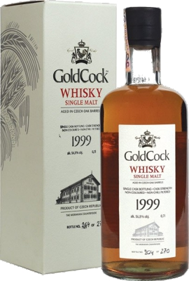 Gold Cock Single Malt 1999 56,8% 0,70 L