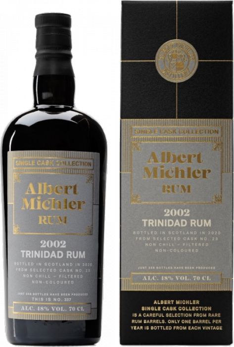 Albert Michler Single Cask Trinidad 2002 17YO 48% 0,70 L