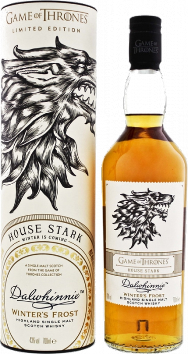 House Stark & Dalwhinnie - Game of Thrones 43% 0,70 L