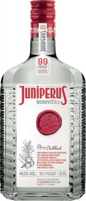 Borovička Juniperus Pure Distilled 49,5% 0,70 L