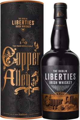 Liberties Copper Alley 10YO 46% 0,70 L