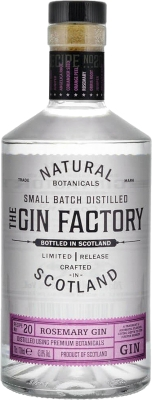 The Gin Factory Rosemary 43,8% 0,70 L