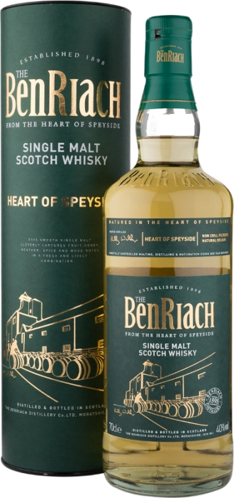 BenRiach Heart of Speyside 40% 0,70 L