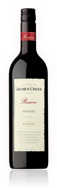 Jacob´s Creek Reserva Barossa Shiraz 14,5% 0,75 L