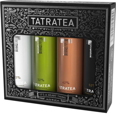 Karloff Tatratea mini Set 22 - 52% 4x 0,04 L