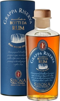 Grappa Riserva Rum Wood Finish 44% 0,50 L