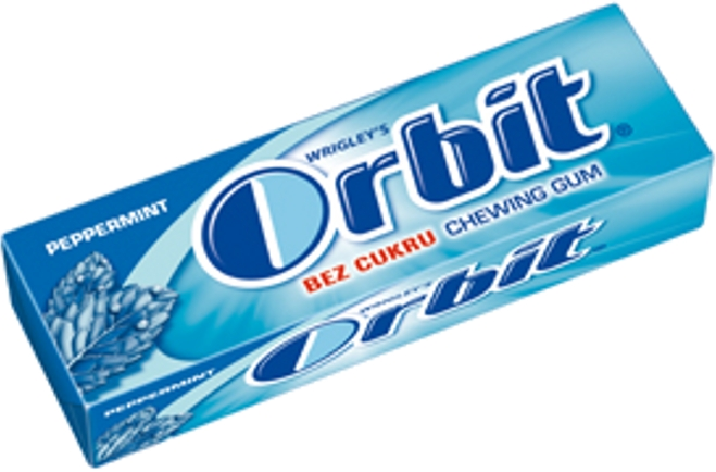 Orbit peppermint draže 1/30