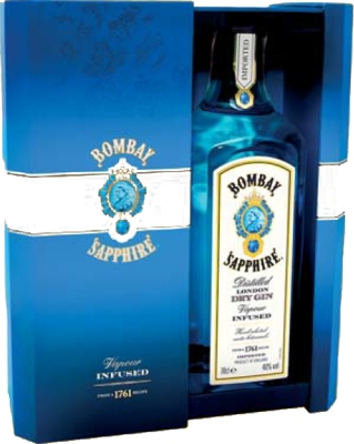Bombay Sapphire 40% 0,70 L Gift