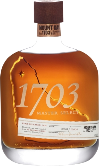 Mount Gay 1703 Master Select 43% 0,70 L