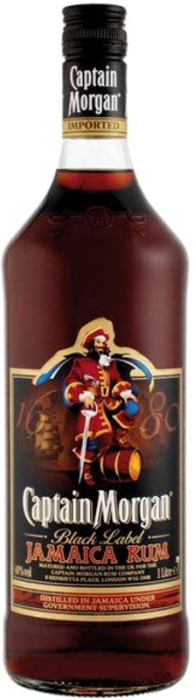 Captain Morgan Black 40% 1,00 L