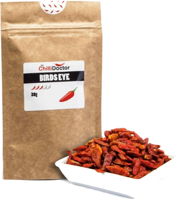 The Chilli Doctor Birds Eye chilli celé sušené 30g