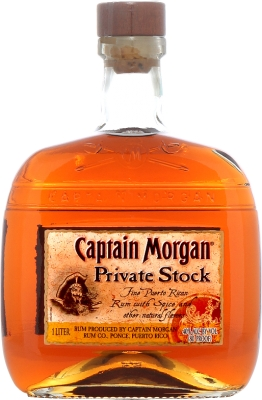 Captain Morgan Private Stock 40% 1,00 L