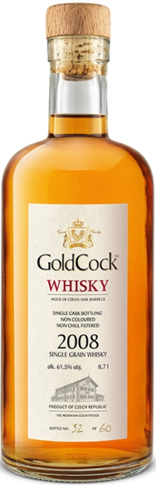 Gold Cock Single Grain 61,5% 0,70 L