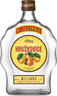 Hruškovica williams budík 42% 0,70 L