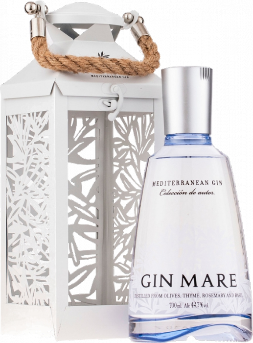 Gin Mare 42,7% 0,70 L + lampáš