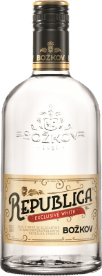 Božkov Republica Exclusive White 38% 0,70 L