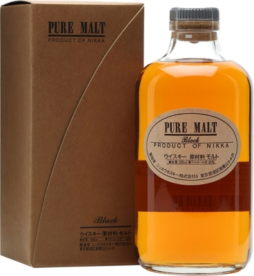 Nikka Pure Malt Black Of 43% 0,50 L
