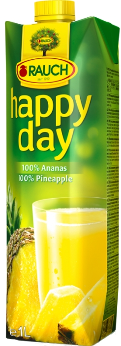 Happy Day Ananás 100% 1,00 L