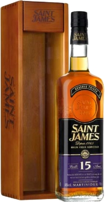 Saint James Vieux 15YO 43% 0,70 L