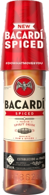 Bacardi Spiced 35% 0,70 L On Pack