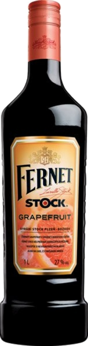 Fernet Stock Grapefruit 27% 1,00 L